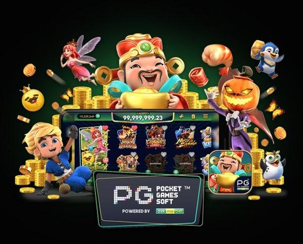 Pgslot ค่ายเกมอันดับ 1 ของคาสิโนออนไลน์